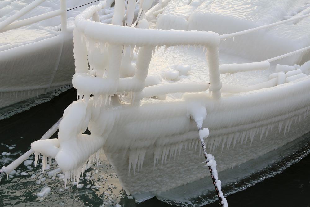 Afbeeldingsresultaat voor boot in ijs