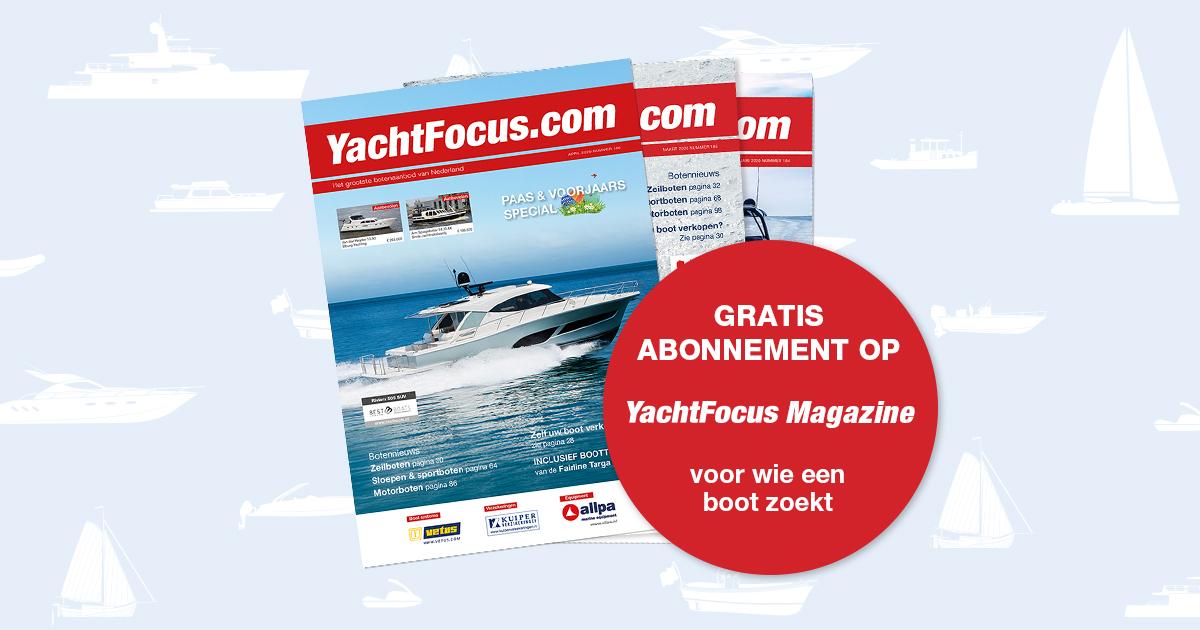 Gratis abonnement op YachtFocus Magazine