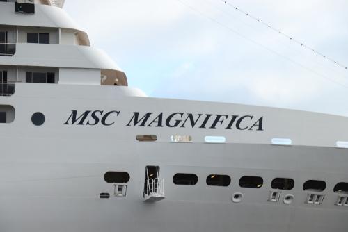 Cruiseschip MSC Magnifica
